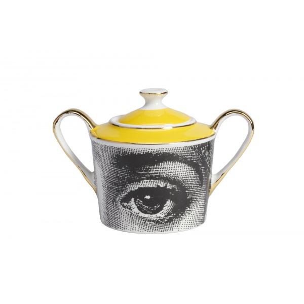 Чайный сервиз Piero Fornasetti Yellow-159