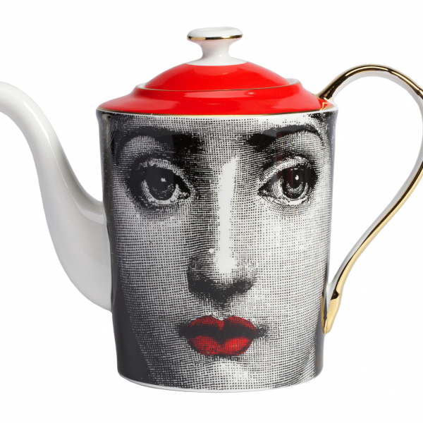 Чайный сервиз Piero Fornasetti Red-169