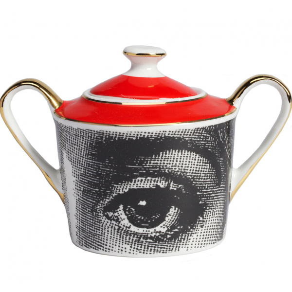 Чайный сервиз Piero Fornasetti Red-170