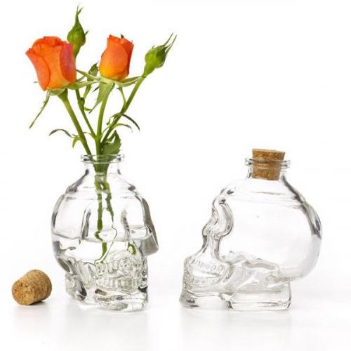 Ваза-бутылка Skull Bottle-0