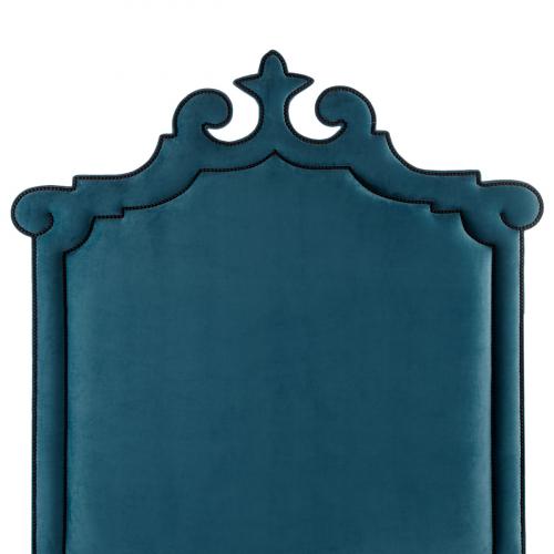 Изголовье кровати Blue Queen-0