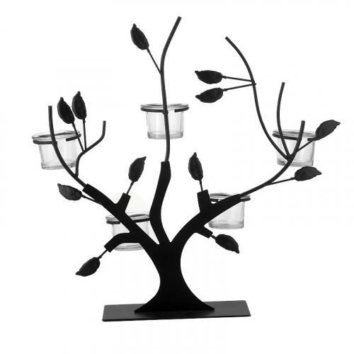 Подсвечник Black Tree-0
