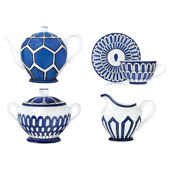 Чайный сервиз Bleus d'Ailleurs-0