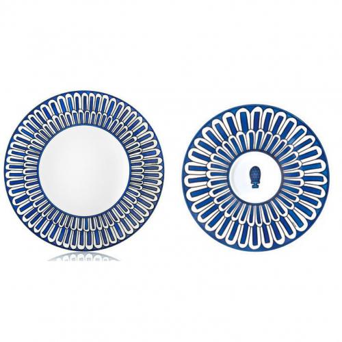 набор из двух тарелок Bleus d'Ailleurs-0