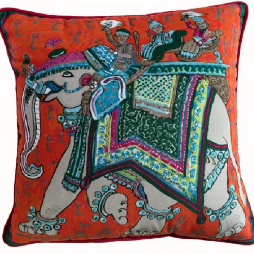 Подушка Hermes Indian Dream-0