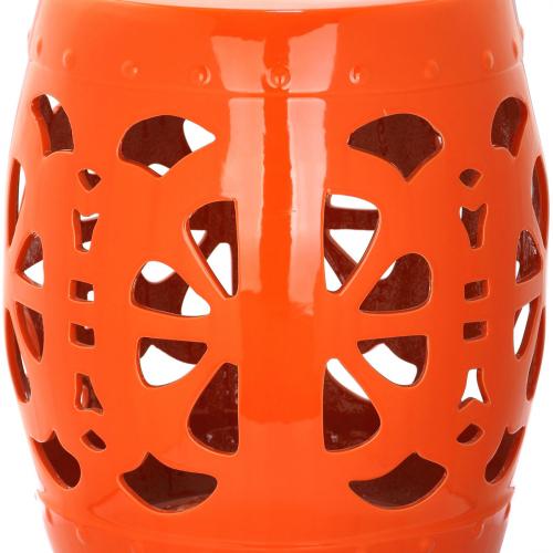Керамический табурет Blossom Orange-0