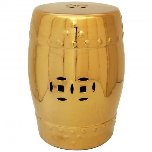 Керамический табурет Bright Crystal Gold-0