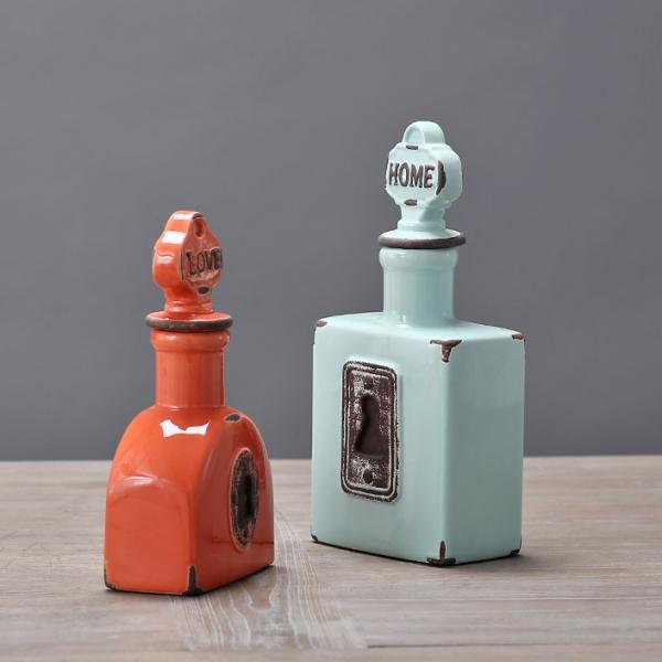 Декоративная бутылка Top Secret Blue-4381