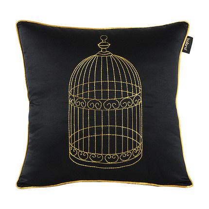 Подушка Birdcage Black-0