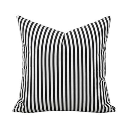 Подушка Black Stripes-0