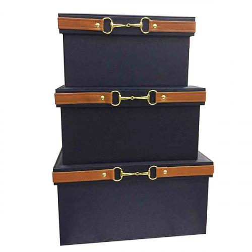 Коробка для хранения Hermes Deep Blue-0