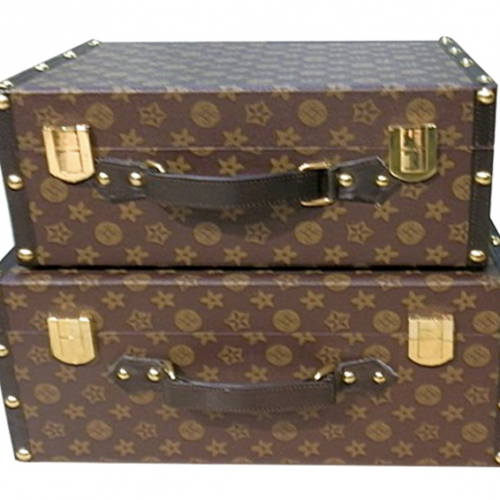 Чемодан LV Trunk Collection-0