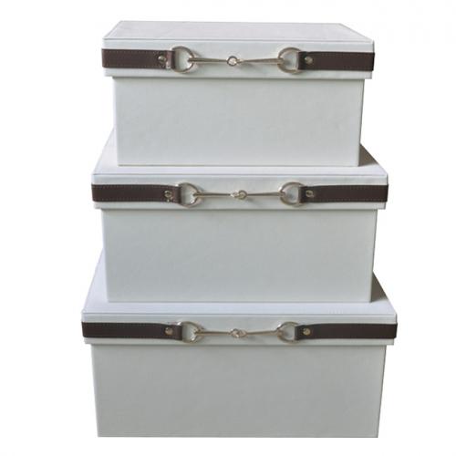 Коробка для хранения Hermes White-0