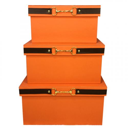Коробка для хранения Hermes Orange-0