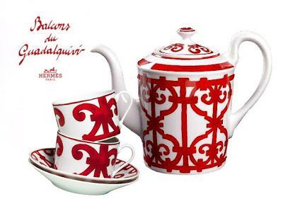 Чайный сервиз Balcon du Guadalquivir Hermes-0