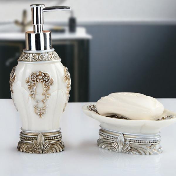 Набор аксессуаров для ванны Vintage Collection-7318