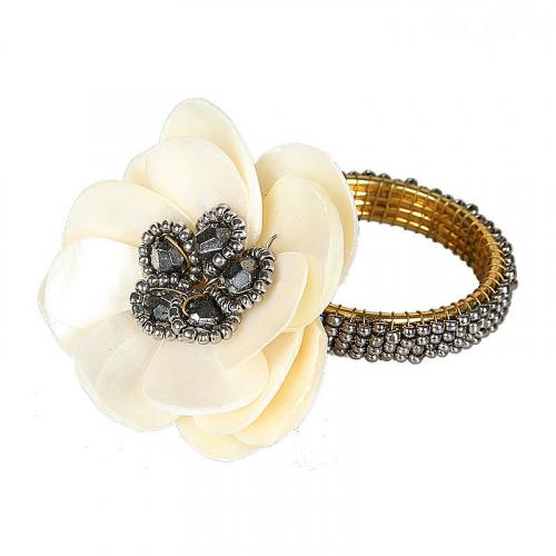 Кольцо для салфеток Flower-0