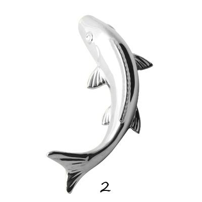Настенный декор Fish Silver-7818
