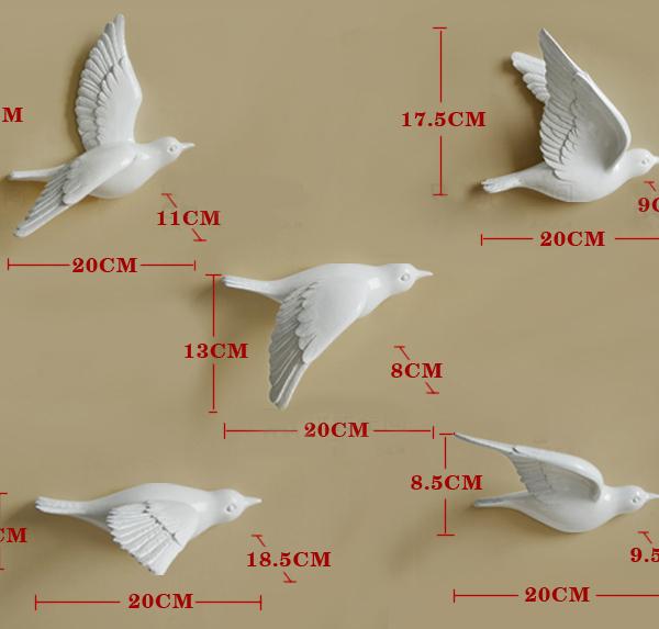 Настенный декор Birdy Gold-7518