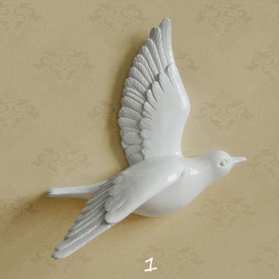Настенный декор Birdy White-7493