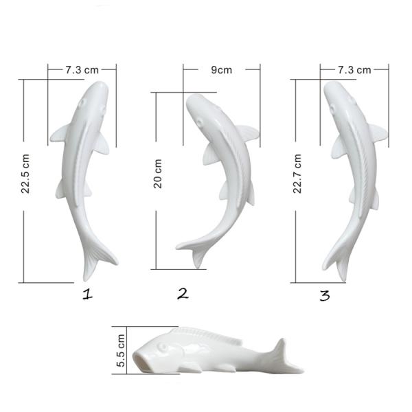 Настенный декор Fish Silver-7811