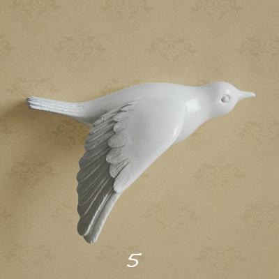 Настенный декор Birdy White-7485