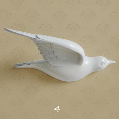 Настенный декор Birdy White-7486
