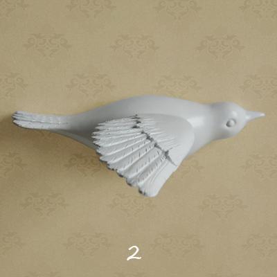 Настенный декор Birdy White-7484