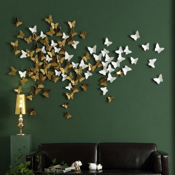 Настенный декор Butterfly Gold-7573