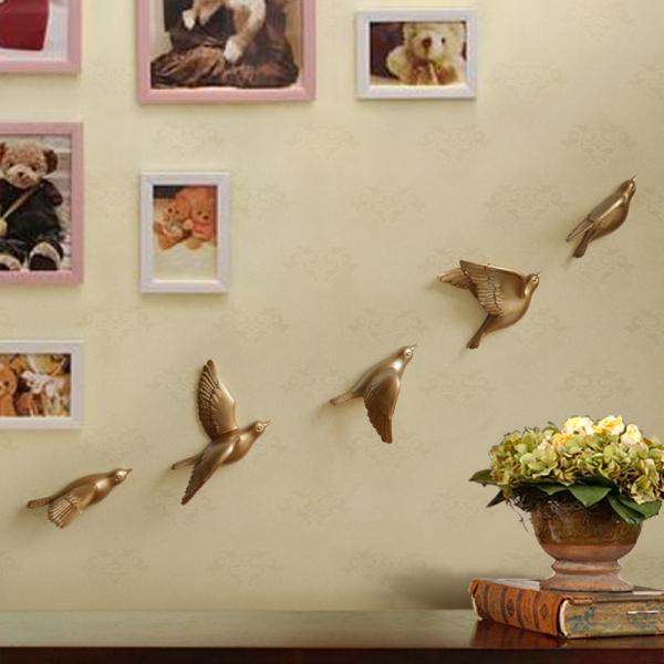 Настенный декор Birdy Gold-0
