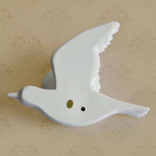 Настенный декор Birdy White-7489