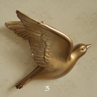 Настенный декор Birdy Gold-7524