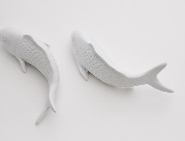 Настенный декор Fish and Water Lily-8557