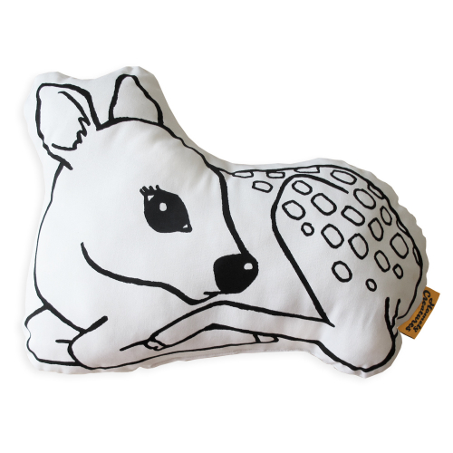 Подушка Sleeping Deer-0