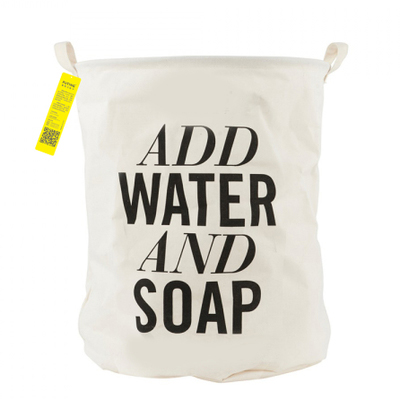 Корзина для белья Add Water and Soap-0