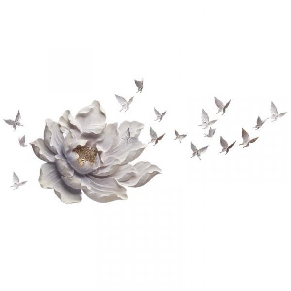 Настенный декор Flower and Butterfly-0