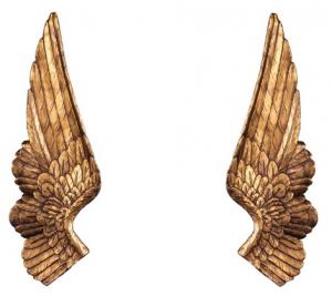Настенный декор Angel Wings Bronze-0