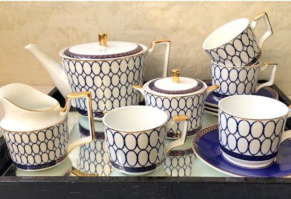 Чайный сервиз Renaissance Gold-0