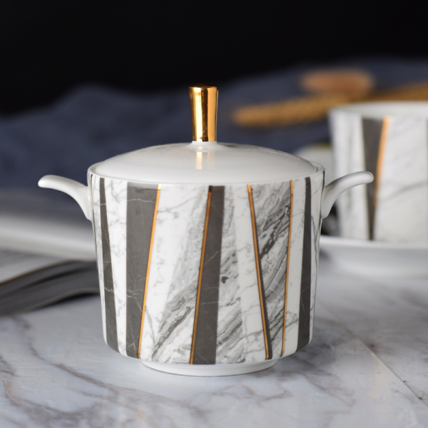 Чайный сервиз Marble Vibes-10221
