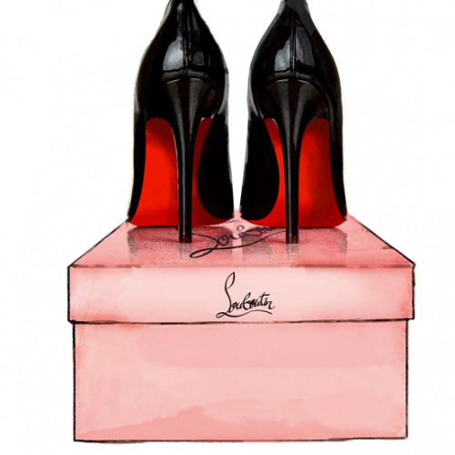 Постер Christian Louboutin Shoes -0