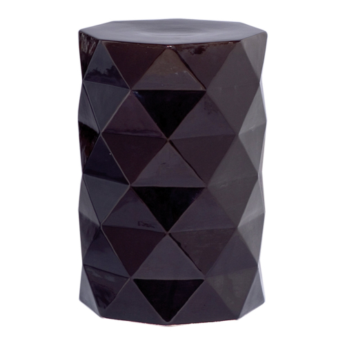 Керамический табурет Black Geo-0