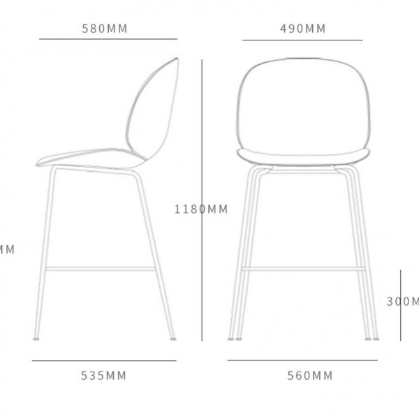 Барный стул Beetle-11234