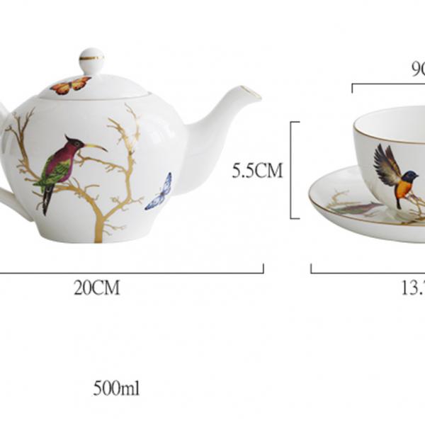 Чайный сервиз Summer Birds-11787