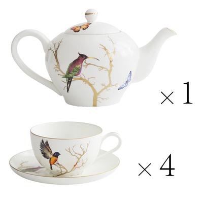 Чайный сервиз Summer Birds-0