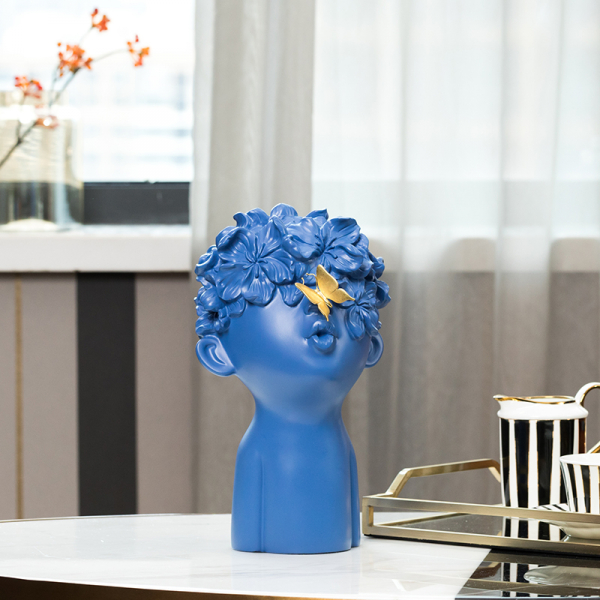 Предмет декора Flower Boy Blue-0