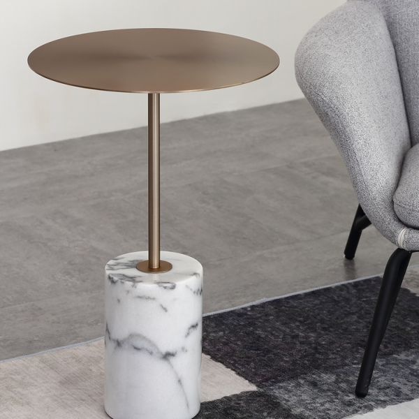 Кофейный столик Thell Golden-14203