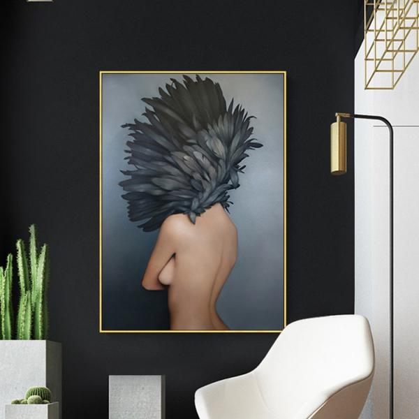 Картина в раме Bird-girl 2-14964